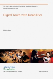Cover of Digital Youth with Disabilities